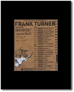 Music Ad World Frank Turner - UK Tour 2007 Mini Poster - 13.5x10cm