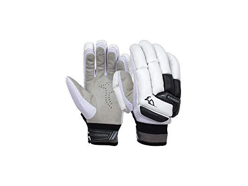 KOOKABURRA Unisex, Jugendliche 2020 Shadow 5.1 Batting Glove Schlaghandschuhe, weiß/blau, Youth Right Hand