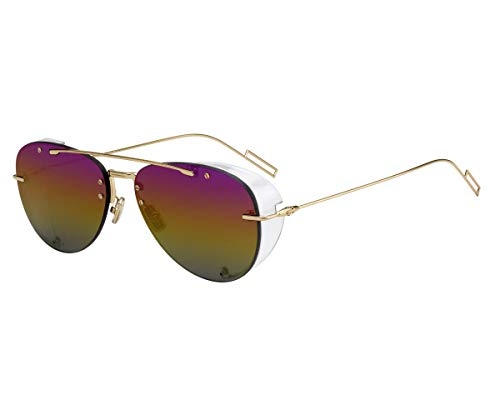 Christian Dior Sonnenbrillen (DiorChroma1 J5GR3) gold - brau-grün - petrol verspiegelt