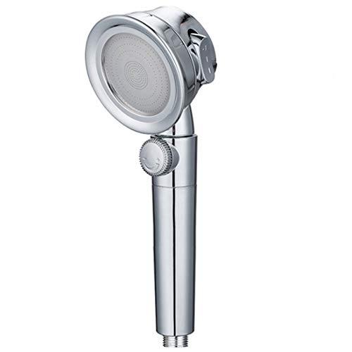 YSQSPWS Alcachofa de Ducha Cabeza de Ducha presurizada Tres velocidades Universal Bath Ducha Interruptor de Alta presión Cabezal de Ducha de Mano para Accesorios de baño (Color : 2m Link Hose)