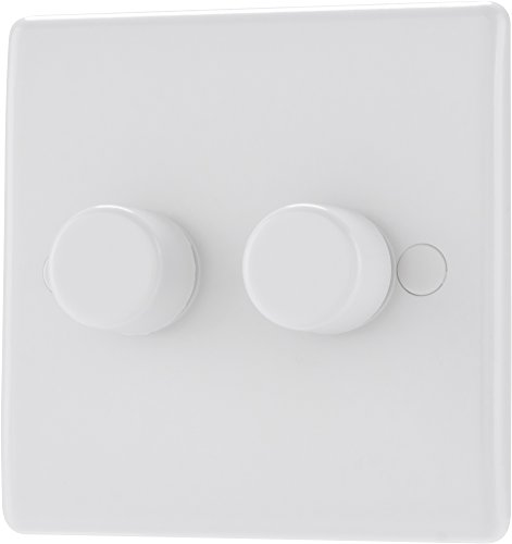 Nexus 882P-01 - WHITE PLASTIC - 2G DIMMER