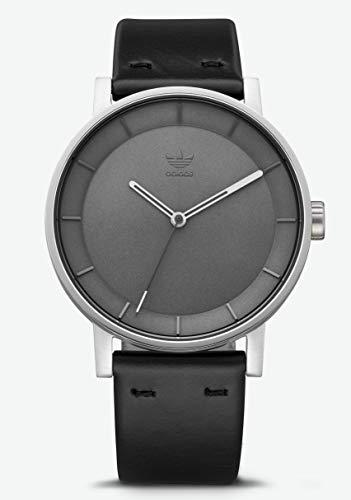 adidas, Z08-2926-00, analoog kwartshorloge voor heren, smartwatch met lederen armband
