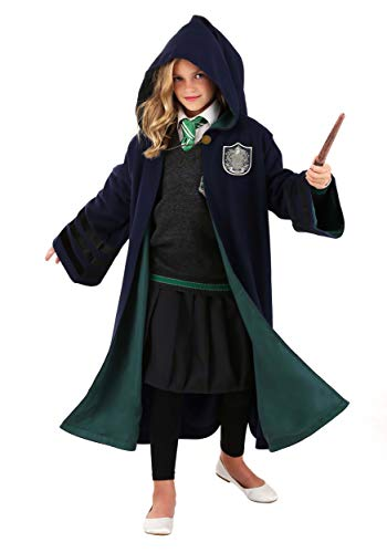 Fantastic Beasts: The Crimes of Grindelwald Slytherin Kids Vintage Wizard Robe One Size