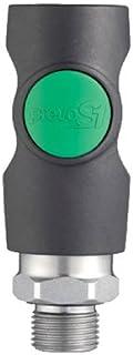 Prevost - Raccord filete male pour compresseur - Réf. fournisseur.ESI071151 - Filetage.1/4 -