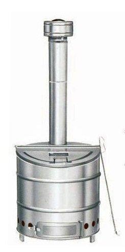 三和式ベンチレーター 家庭用 ステンレス製 焼却炉 80型