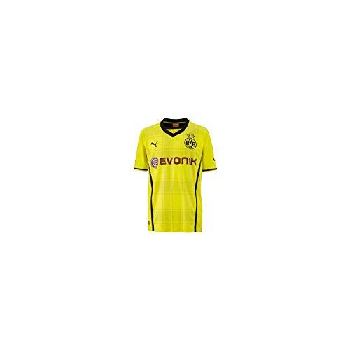 Puma Dortmund BVB 2013/2014 Home Replica Jersey - Youth Medium