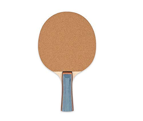 Champion Sports Sandpaper Face 5ply Laminated Table Tennis Ping Pong Paddle red...