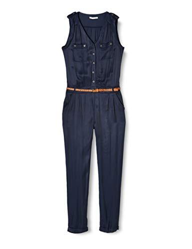 Mexx Damen Jumpsuit, Blau (Black Iris 193921), (Herstellergröße: 38)