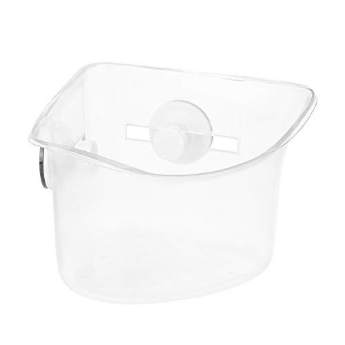 Amazon Basics - Estantería de ducha para esquina con ventosas extrafuertes