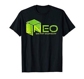 NEO coin - Smart Economy Distressed NEO Logo TShirt