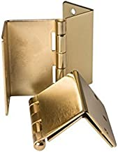 Handicap Brass Expandable Door Hinges - 3 Hinges