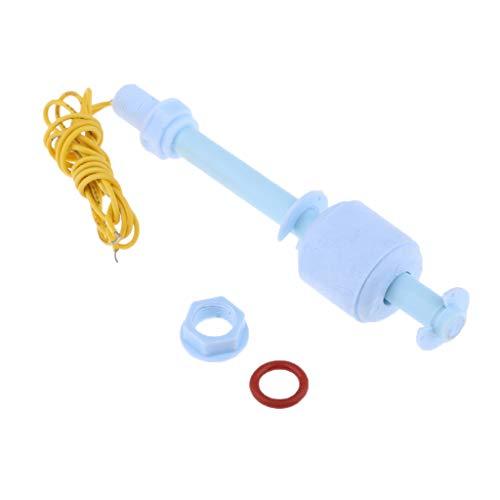 B Blesiya Interruptor de Flotador de Agua del Tanque DC100V del Sensor de Nivel de Líquido M10 * 100MM