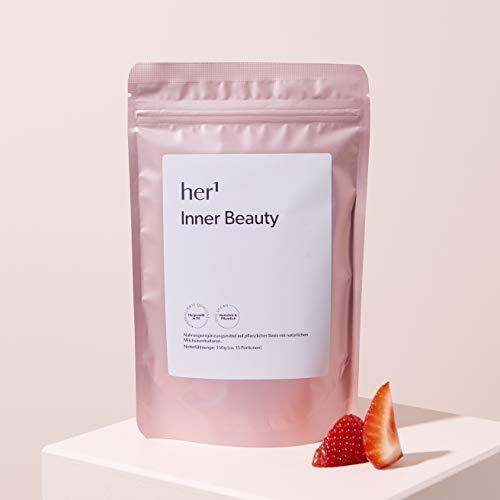 Inner Beauty (mit Probiotika) – natürliches Probiotikum mit Präbiotika (Synbiotikum) – hochdosierte Probiotika für Darmaufbau – vegan, glutenfrei, zuckerfrei – hergestellt in DE