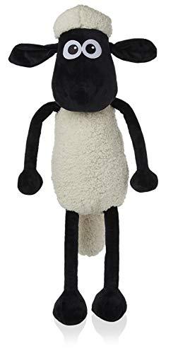 Shaun the Sheep Plüschtier, Shaun Das Schaf Plüsch für Kinder, Super Soft Plüsch Kleinkinder Plüschtier groß 80 cm Von Shaun das Schaf 2 UFO-Alarm, Stofftier Groß, Original Geschenkidee