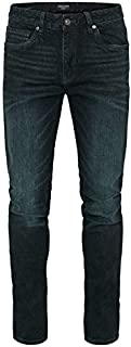Tarocash Men's Gavin Regular Stretch Jean Cotton Stretch Regular Fit Sizes 30-46 for Going Out Smart Occasionwear Denim