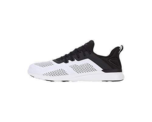 APL: Athletic Propulsion Labs Women's Techloom Tracer Sneakers, Black/White, 8 Medium US