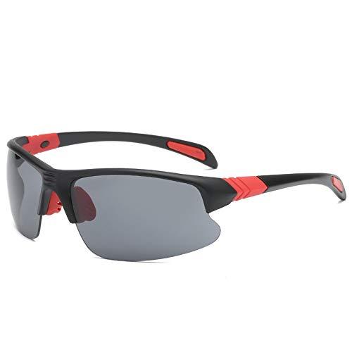 NSGJUYT UV400 Gafas de Sol de Ciclo Deportes al Aire Libre for Bicicleta Los vidrios de Ciclo Eyewear (Color : 08)