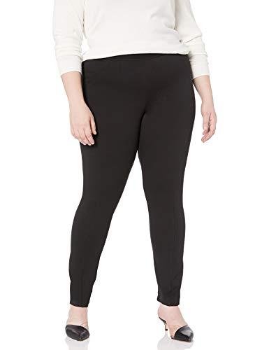 RACHEL Rachel Roy Women's Plus Size Seamed Legging, Black, 0X