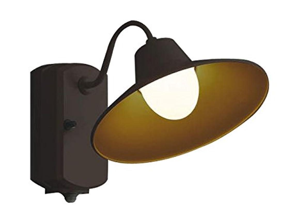 コンベンション崇拝するより平らなコイズミ照明 人感センサ付ポーチ灯 マルチタイプ 茶色塗装 AU42251L