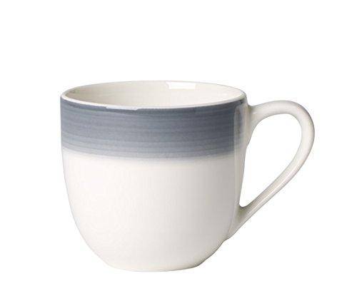 Villeroy & Boch Colourful Life Cosy Grey Tasse à Mokka/Expresso, 100 ml, Porcelaine Premium, Gris