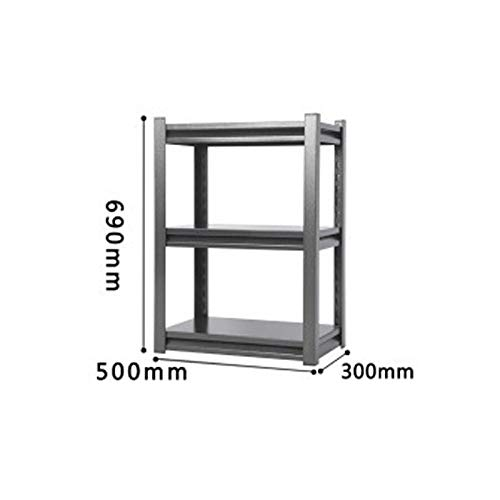 Wandplank, bureau metalen plank, geschikt voor keuken vloer balkon opslag plank woonkamer opslag plank multi-layer puin rack