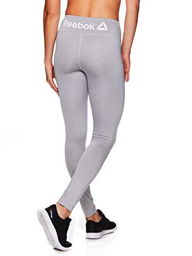 Reebok Damen legging ganzkörper leistung compression hosen mittel grau heather