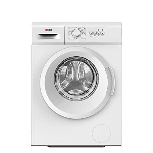 Haden HW1207 Washing Machine – Freestanding Multifunction Front Loading Washer, 1200rpm Spin, 7kg Load, White - CF35
