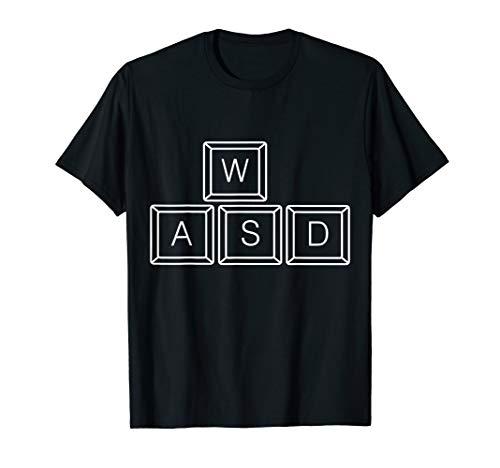 WASD ORIGINAL Keyboard Keys PC Tasten Gaming Tastatur T-Shirt