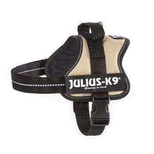 Julius-K9 162BE-0 K9 PowerHarness for Dogs, Size 0, Beige