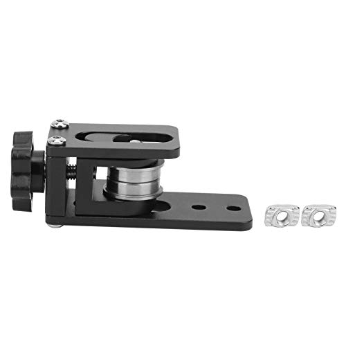 X‑Axis Synchronous Belt Tensioner, Aluminum Alloy Timing Strap Adjustment Straighten Tensioner 3D Printer Parts
