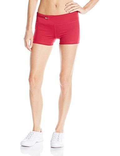 Oiselle Women's Stride Mini Shorts, Deep Rose, Size 6