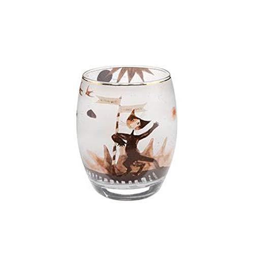 Goebel Wohnaccessoires Teelichthalter, Glas, Mehrfarbig, 7x7x10 cm