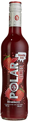 Polar Limes Strawberry Smoothie Style Likör (1 x 0.5 l)