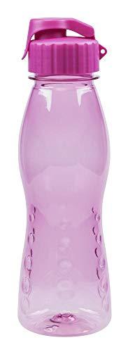 Steuber culinario Trinkflasche Flip Top, BPA-frei, 700 ml Inhalt, pink