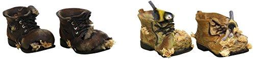 Sunny Toys 12197 Poly Schuh mit Maus und Vogel 11 cm, 4 fach sortiert