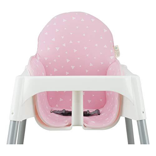 JANABEBE IKEA Antilop Hochstuhlkissen (Pink Sparkles)