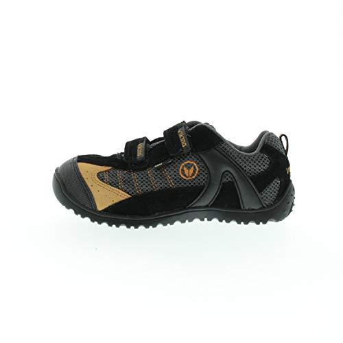 viking Schuhe für Jungen Trekkingschuhe Rex XCR GTX Schwarz Orange 337020277 (Numeric_35)