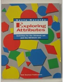 Exploring Attributes: Activities for the 32-Block Set and the 60-Block Set