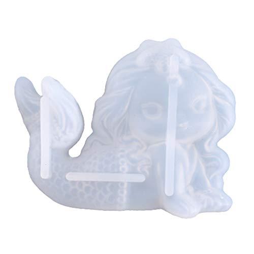 Incdnn Interruptor de pegatinas decorativas de silicona molde DIY manualidades adornos hacer herramientas de cristal epoxi resina