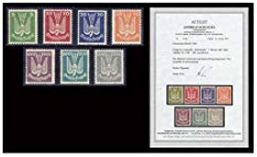 Goldhahn Deutsches Reich Nr. 344-350 postfrisch  mit Fotoattest Briefmarken für Sammler