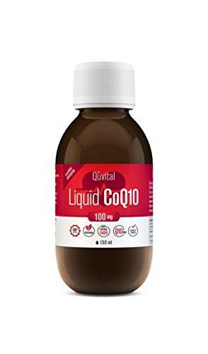 Quvital Liquid – High Absorption Coenzyme Q10-100mg Co Q10, 30...