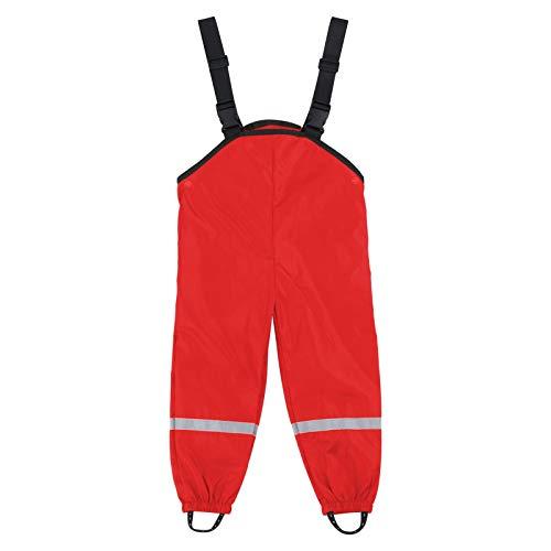 YE&ZI Unisex Kinder Regenlatzhose, für Mädchen Jungen, Wind- und...