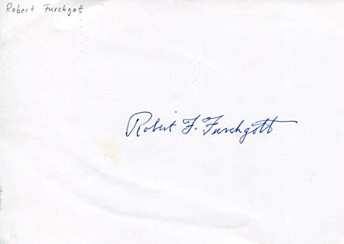 Robert F. Furchgott original Autogramm/Autograph/signiert