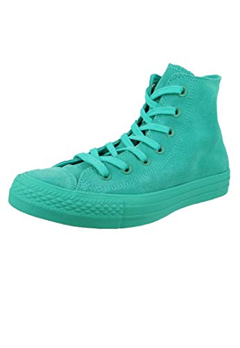 Converse Damen Chuck Taylor CTAS Hi Sneakers, Mehrfarbig Pure Teal Pure Teal Pure Teal 336, 38 EU