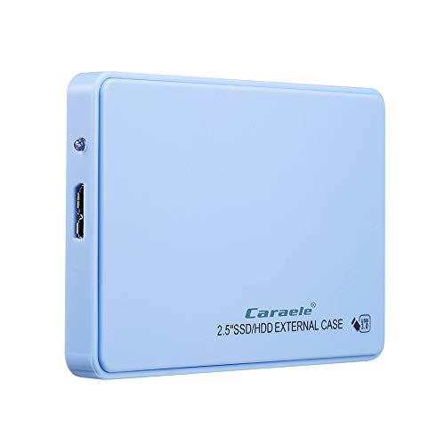 BALALALA Portable Unidad de Disco Duro Externa de 500GB/1TB/2TB, HDD, USB 3.0 para PC, Ordenador portátil y Mac
