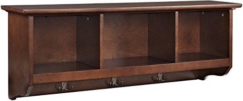 StoreYourBoard 2 Tier Shelves, Home and Garage Storage Wall Mount, 46 Inch Wide, Holds Tools, Sports Equipment, Camping Gear, Auto Parts, and More