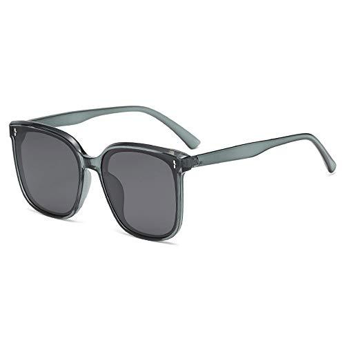 Gafas De Sol para Hombre Y Mujer Moda Polarizadas Gafas ProteccióN para ConduccióN Gafas De Deportes Al Aire Libre De Pesca De Moda Regalo de San Valentín (Color : Gray)
