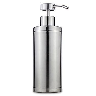 Riovoca Kitchen Countertop Stainless Steel Soap Dispenser Pump