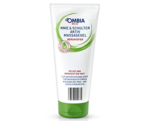 OMBIA MED Knie & Schulte Aktiv Massagegel Bergkiefer 200 ml