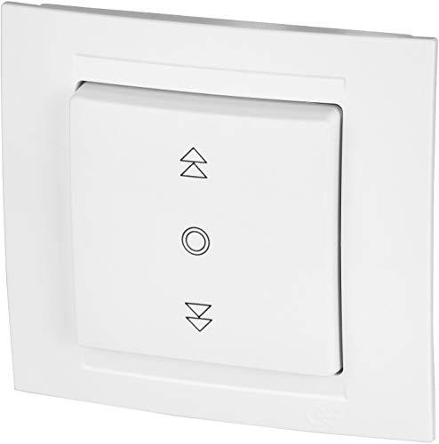Interruptor de persiana para persianas de la serie M1, color blanco